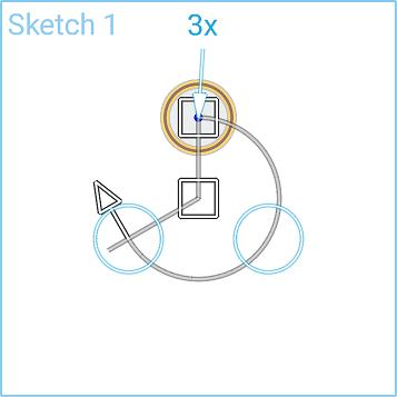 Circular Sketch Pattern